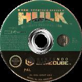 The Incredible Hulk Ultimate Destruction GameCube disc (GHUP7D)