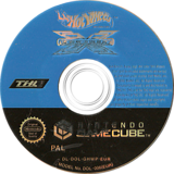 Hot Wheels: Velocity X GameCube disc (GHWP78)