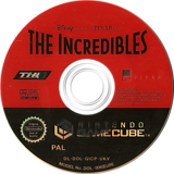 The Incredibles GameCube disc (GICP78)