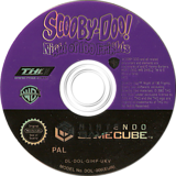 Scooby-Doo!  Night of 100 Frights GameCube disc (GIHP78)
