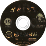 Geist GameCube disc (GITP01)