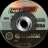 NBA 2K3 GameCube disc (GK3P8P)