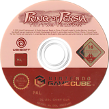 Prince of Persia: The Two Thrones GameCube disc (GKMP41)
