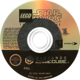 LEGO Star Wars: The Video Game GameCube disc (GL5P4F)