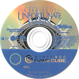 Lemony Snickets A Series Of Unfortunate Events GameCube disc (GLCP52)