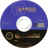 Largo Winch : Empire Under Threat GameCube disc (GLGP41)