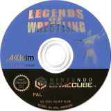 Legends of Wrestling GameCube disc (GLWP51)