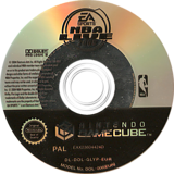 NBA Live 2005 GameCube disc (GLYP69)