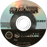 Metal Arms: Glitch in the System GameCube disc (GM5P7D)