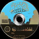 Super Mario Sunshine GameCube disc (GMSP01)
