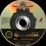 NHL 06 GameCube disc (GN6P69)