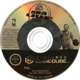 NBA Live 2003 GameCube disc (GNLP69)