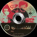 Naruto: Clash of Ninja - European Version GameCube disc (GNUPDA)