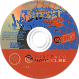 NBA Street Vol.2 GameCube disc (GNZP69)