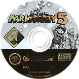 Mario Party 5 GameCube disc (GP5P01)
