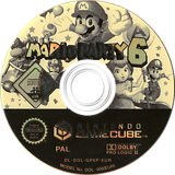 Mario Party 6 GameCube disc (GP6P01)