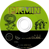 Pikmin GameCube disc (GPIP01)