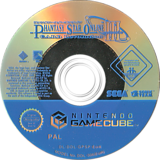 Phantasy Star Online Episode III: C.A.R.D. Revolution GameCube disc (GPSP8P)
