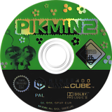 Pikmin 2 GameCube disc (GPVP01)