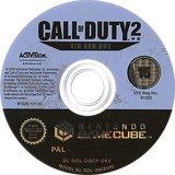 Call of Duty 2: Big Red One GameCube disc (GQCP52)