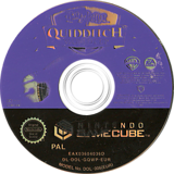 Harry Potter: Quidditch World Cup GameCube disc (GQWP69)