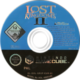 Lost Kingdoms 2 GameCube disc (GR2P52)