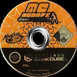 MC Groovz Dance Craze GameCube disc (GR4PMZ)