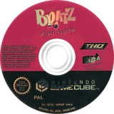 Bratz: Rock Angelz GameCube disc (GR6P78)