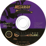 Mega Man Network Transmission GameCube disc (GREP08)