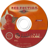 Red Faction II GameCube disc (GRFP78)