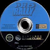 Pro Rally GameCube disc (GRLP41)
