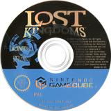 Lost Kingdoms GameCube disc (GRNP52)