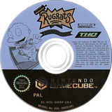 Rugrats: Royal Ransom GameCube disc (GRRP78)