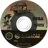 Sonic Adventure 2: Battle GameCube disc (GSNP8P)