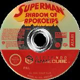 Superman: Shadow of Apokolips GameCube disc (GSUP70)
