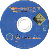 Terminator 3: The Redemption GameCube disc (GT6P70)