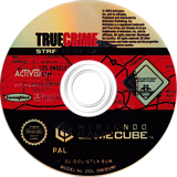 True Crime: Streets of LA GameCube disc (GTLX52)