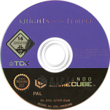 Knights Of The Temple:Infernal Crusade GameCube disc (GTPP6S)