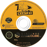 Taz Wanted GameCube disc (GTWP70)