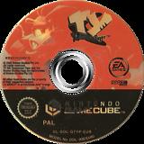 Tythe Tasmanian Tiger GameCube disc (GTYP69)