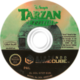 Tarzan Freeride GameCube disc (GTZP41)