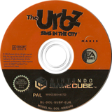The Urbz: Sims In The City GameCube disc (GUBP69)
