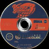 Virtua Striker 3 Ver. 2002 GameCube disc (GVSP8P)