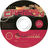 Need for Speed: Carbon GameCube disc (GW5P69)
