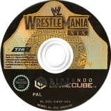 WWE WrestleMania XIX GameCube disc (GW9P78)