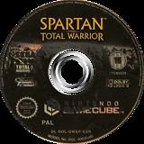 Spartan Total Warrior GameCube disc (GWAP8P)