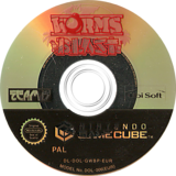 Worms Blast GameCube disc (GWBP41)
