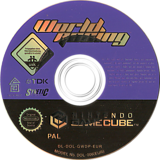 World Racing GameCube disc (GWDP6S)