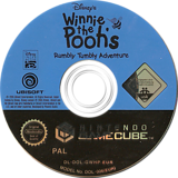 Winnie the Pooh's Rumbly Tumbly Adventure GameCube disc (GWHP41)