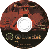Wallace & Gromit:Project Zoo GameCube disc (GWLP6L)